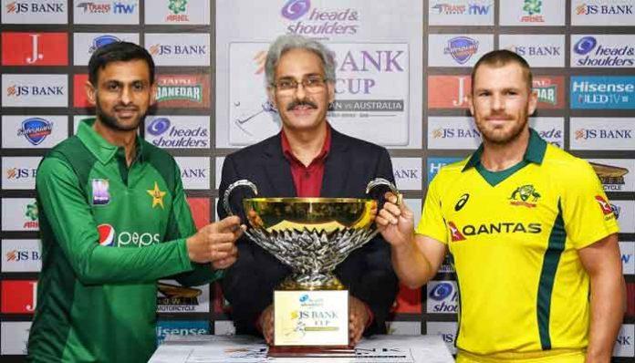 Pakistan to face Australia in 1st ODI today