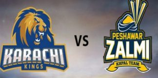 PSL-4: Peshawar Zalmi to face Karachi Kings tonight