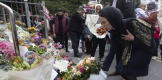 New Zealand PM Ardern lays wreath after Christchurch mosque terror attack
