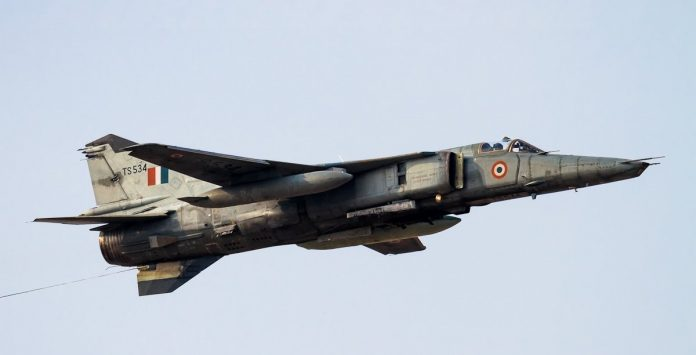 Indian Air Force aircraft crashes near Jodhpur in Rajasthan