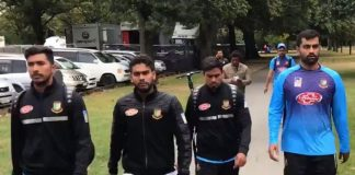 Bangladesh cricket team escapes shooting at mosque in New Zealand