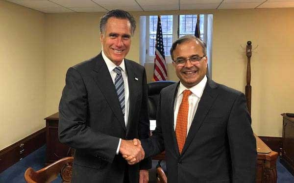 Pakistan's Ambassador briefs US senator on regional situation