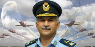Pakistan air chief lauds personnel over successful India strikes