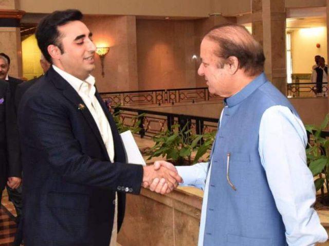 Bilawal to meet Nawaz Sharif in Kot Lakhpat Jail today