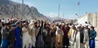Transporters continue protest against toll tax in Jamrud