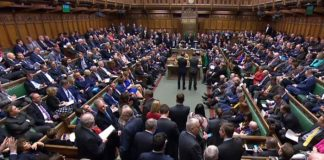 British parliament vote for a Brexit postponement of at least three months