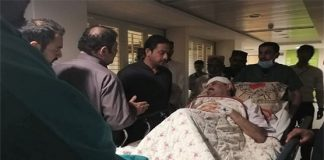 Federal Minister Ali Muhammad Mahar injured in attack on his residence