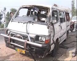 Three killed in coach-van collision in Hub