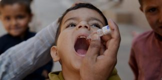 Three-day anti-polio campaign underway in Khyber Pakhtunkhwa