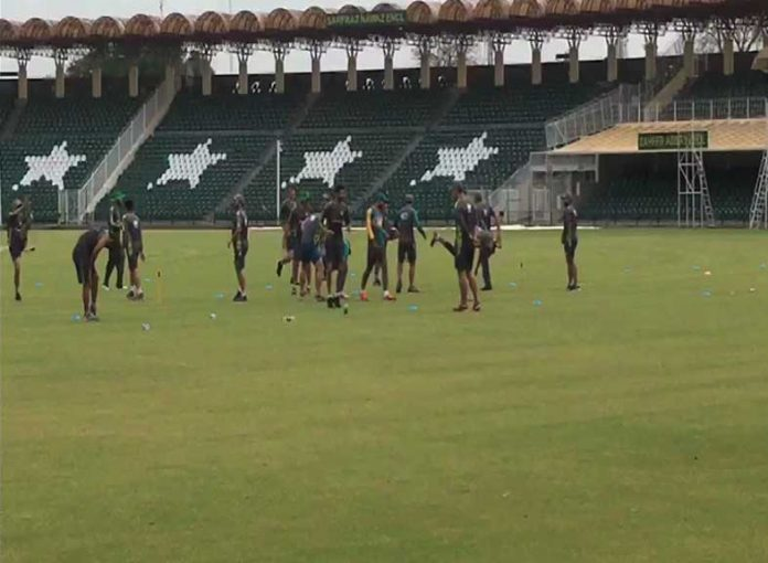 Pakistan cricket team starts training camp for World Cup 2019