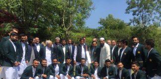 Cricket team meet PM Imran Khan ahead of World Cup
