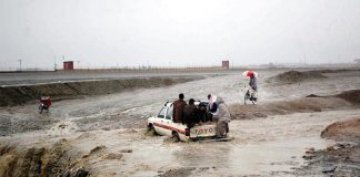 Flash flood kills four in Pishin, Balochistan