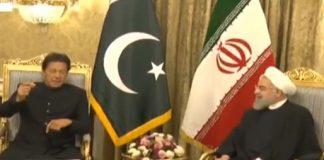 PM Imran Khan meets Iranian President Rouhani in Tehran
