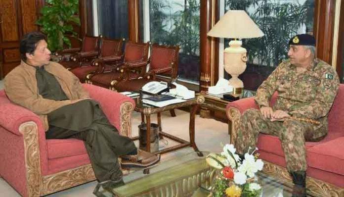 Army Chief Gen Bajwa calls on PM Imran Khan