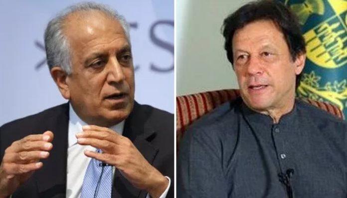 US envoy Khalilzad praises PM Imran's statement on Afghanistan