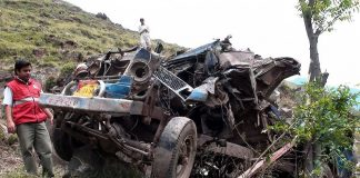 Six killed as jeep plunges into river in Azad Kashmir