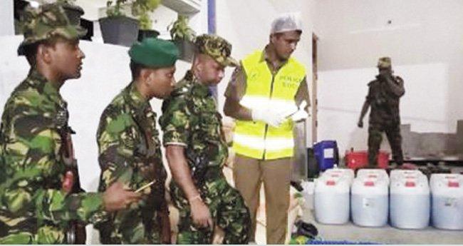 15 killed in raid on militants hideout in Sri Lanka