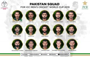 PCB announces 15-member team for ICC World Cup 2019