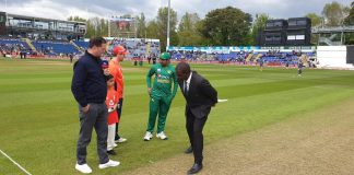 Pakistan win toss, elects to bat first against England in T20I