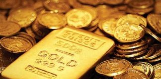 Gold price increases Rs800 to Rs109,100 per tola