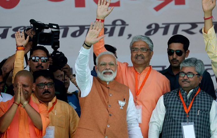 Indian PM Modi stuns opposition with'massive' election win