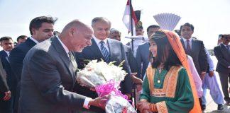 Afghan President Ashraf Ghani arrives in Pakistan on two-day visit