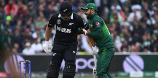 New Zealand set 238 runs target against Pakistan in World Cup clash