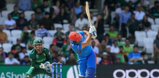 Afghanistan set 228 runs target for Pakistan in World Cup clash