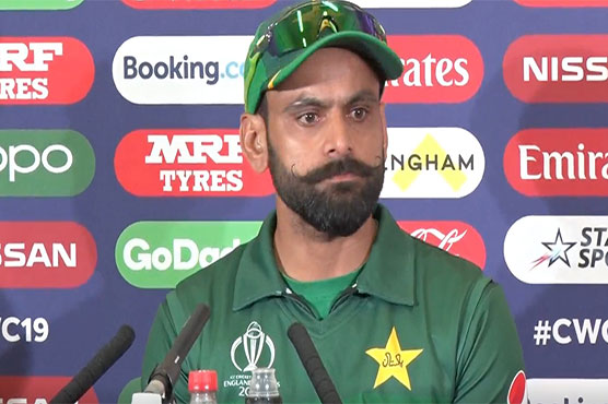 Waqar Younis must realise his'time is up': Mohammad Hafeez