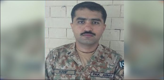 Funeral prayers of martyred army officer offered in Lakki Marwat