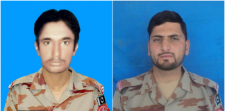 Two soldiers martyred while on Eid patrol duty in Balochistan: ISPR