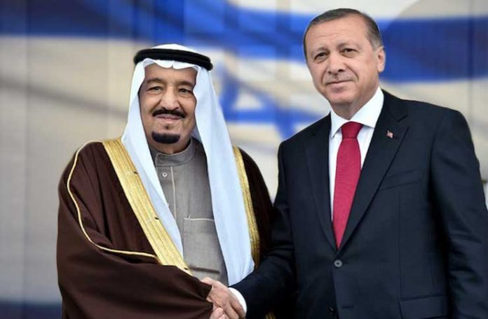 Erdogan speaks to Saudi king after no-show at OIC summit