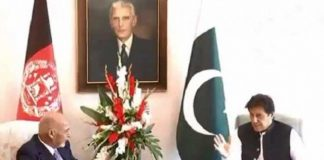 PM Imran, Afghan president discuss Afghan peace process, bilateral ties