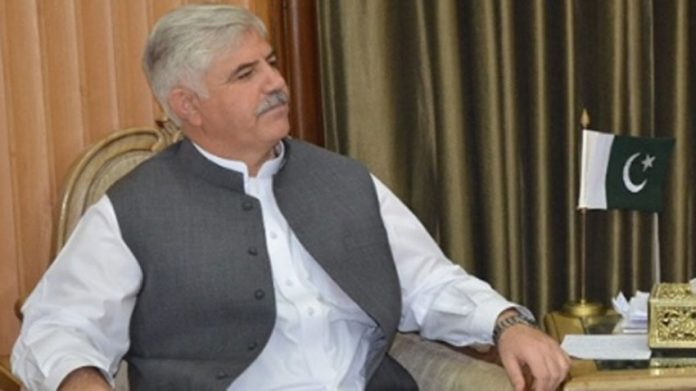 Elimination of corruption KP Govt's top priority: CM Mahmood Khan
