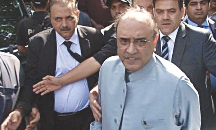Asif Zardari requests acquittal in Park Lane property case