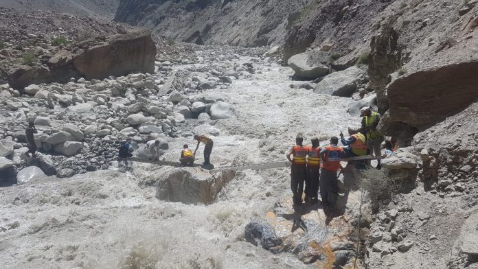 Relief operation in full swing in flood-hit areas of Chitral