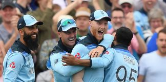 Stokes revels in redemption story as England make World Cup history