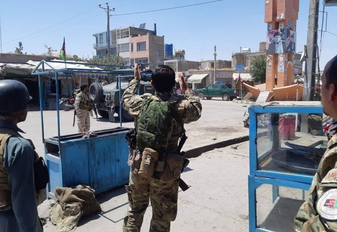 Eight Afghan forces killed as Taliban attack hotel compound