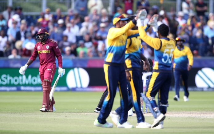 Sri Lanka beat West Indies by 23 runs in World Cup clash