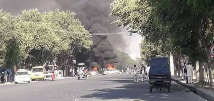 At least 12 killed, dozens wounded in three bomb blasts in Kabul