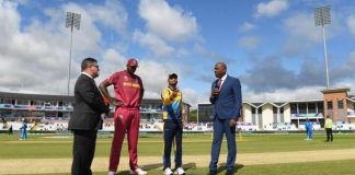 West Indies opt to bowl first against Sri Lanka in World Cup clash