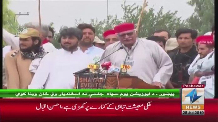 Peace in Pakistan not possible without stability in Afghanistan: Asfandyar