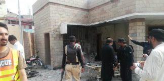 Policemen among seven killed in suicide blast, firing in DI Khan