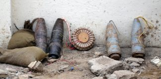 At least 14 killed as mortars hit Afghan market