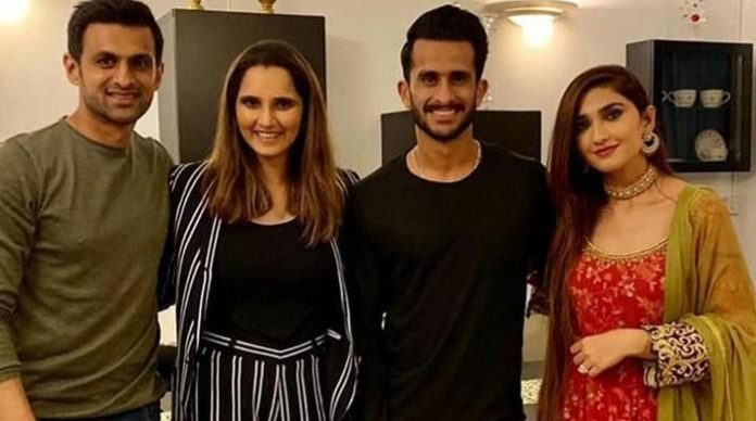Shoaib, Sania arrange dinner for newlywed Hasan Ali and his wife Samiya