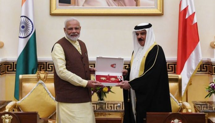 After UAE honor, Bahrain King confers its top award'Order of the Renaissance' on Modi