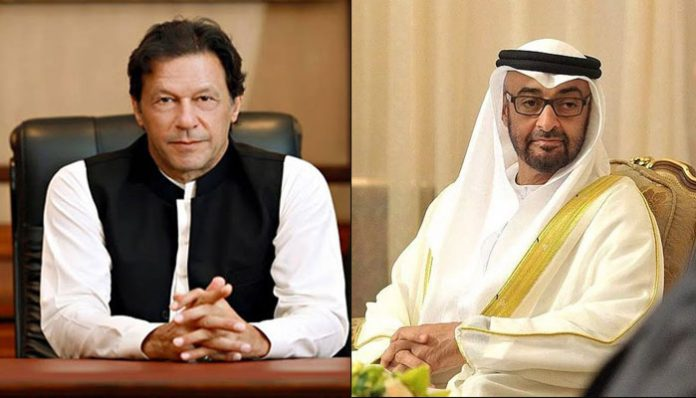 PM Imran, UAE crown prince share views on situation in occupied Kashmir