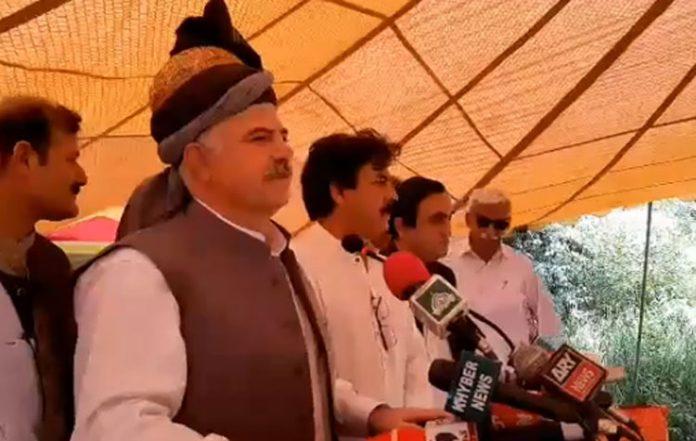 KP CM Mahmood Khan lays foundation of Utla Dam in Swabi