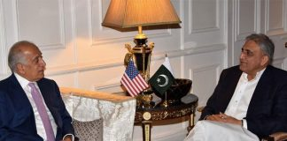 Pakistan will play its role for peace in Afghanistan: COAS Bajwa tells US envoy