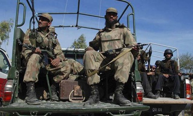 Six soldiers injured as their vehicle plunges in ravine in North Waziristan